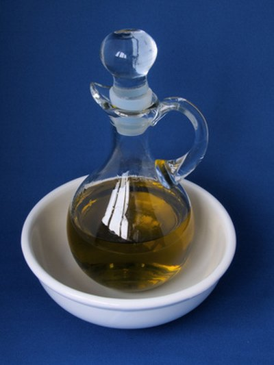 Olive oil is a common natural lubricant.