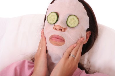 Cucumbers help with puffy eyes.