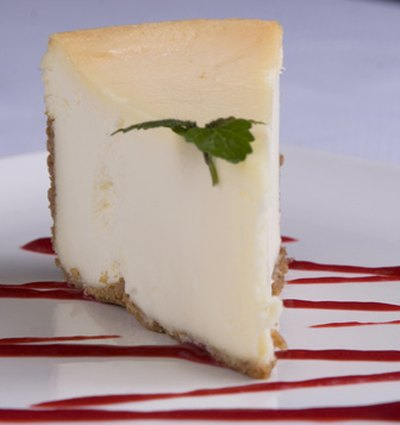 Calories from cheesecake can vary depending on the portion size.