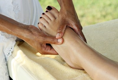 Cellulite Leg Massage