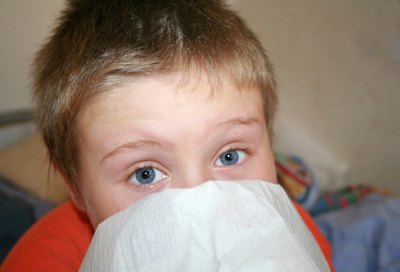 Causes of a Persistent Runny Nose & Cough