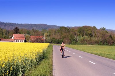 Cycling provides a good alternative to running during the early phase of plantar fasciitis recovery.