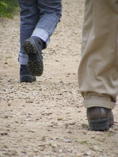 Boots fitted to your feet will keep you walking in comfort.