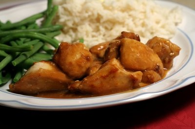 Low-Fat Chicken and Rice Dinners