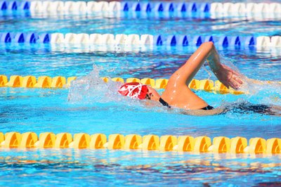 Swimming uses more than just arm power.