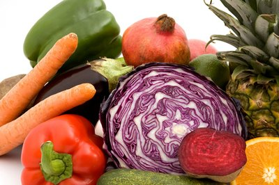 Fresh fruits and vegetables carry harmful microbes.