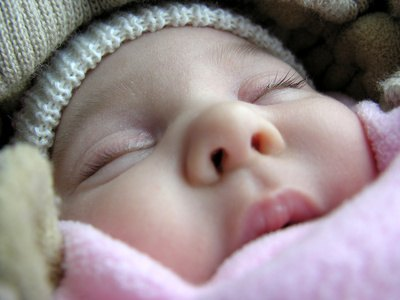 Infant Grunting in Sleep