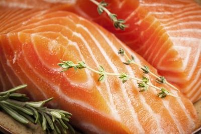 Salmon also supplies calcium.
