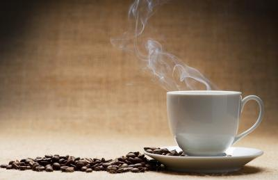 Caffeine may interact with lithium.
