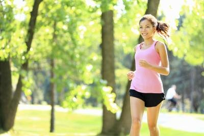 Perform any of your favorite aerobic workouts at least three times per week.