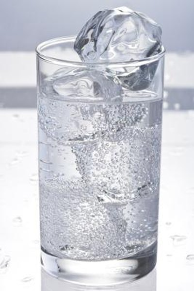 ice water washes away irritants