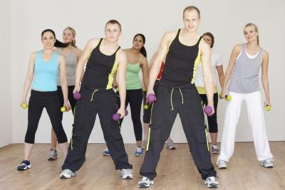 Group classes are a fun way to train aerobically.