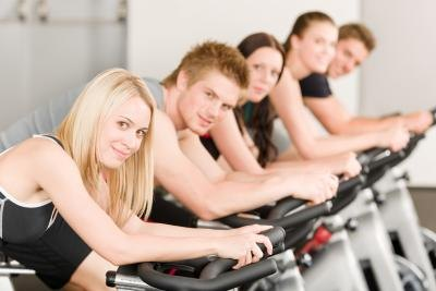 Indoor cycling will help you blast fat.