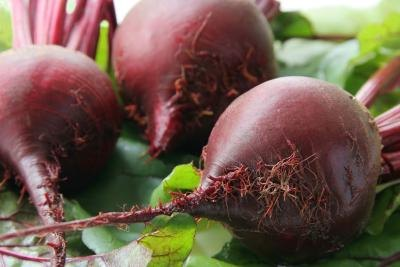 Beets are also good.