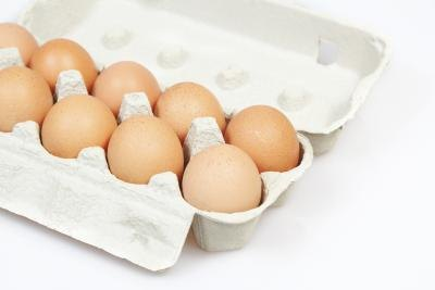 Look for organic eggs.