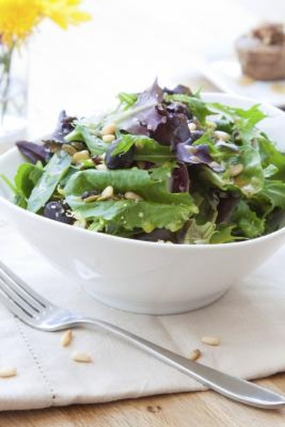 vinegar based salad dressings and nuts should be avoided      avoided