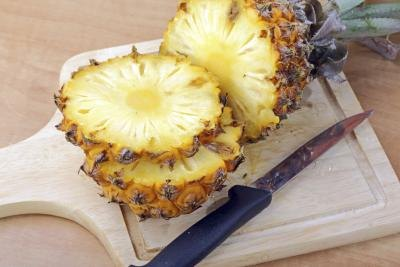 Pineapple perks up the brain.