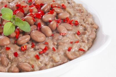 Calories in Cooked Pinto Beans