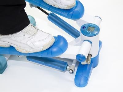 Using a mini stepper can burn over 400 calories in an hour and you can slide under your bed when your done.