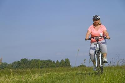 For people who are very overweight, cycling may be more comfortable.