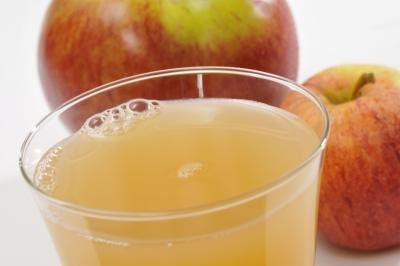 Dilute fruit juice with water.