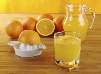 Citrus juice is highly acidic.