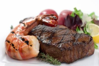 Zinc is present in seafood and red meat.