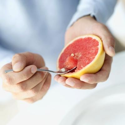 Grapefruit are very high in vitamin C.