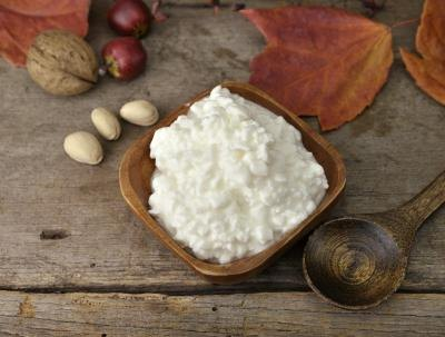 Cottage cheese is a good source of protein.