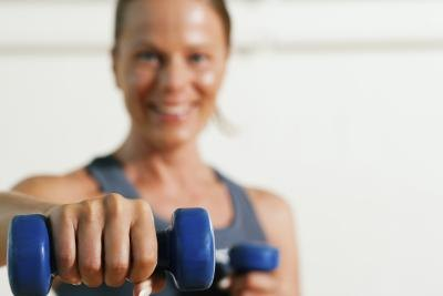 Strength training targets the main symptom of MD.