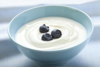 Yogurt and kefir contain probiotics.