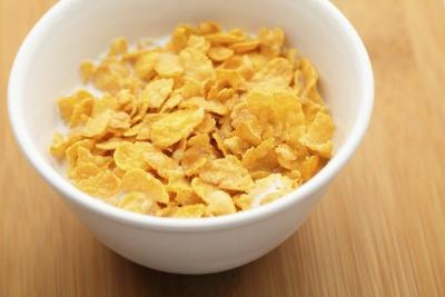 Bowl Of Cornflakes And Milk Nutrition Infor...