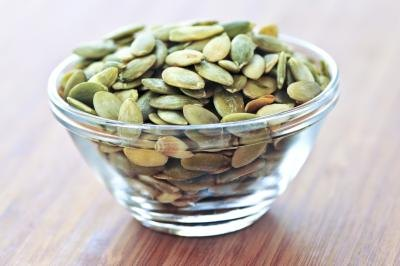 The very best food source of magnesium is pumpkin seeds.