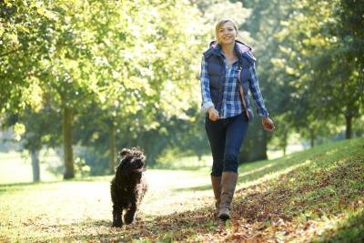 Walking is good for women of all ages.