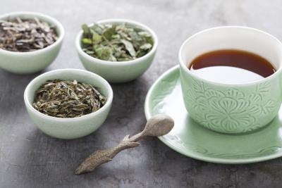 Sip herbal teas to clear your bowel.