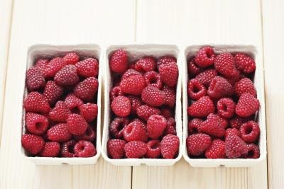 Raspberries are packed with fiber.