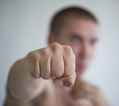 Bare fist bloody knuckles strange ways will refrain