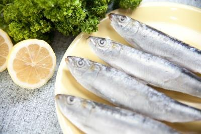 Sardines are rich in omega-3 fatty acids.
