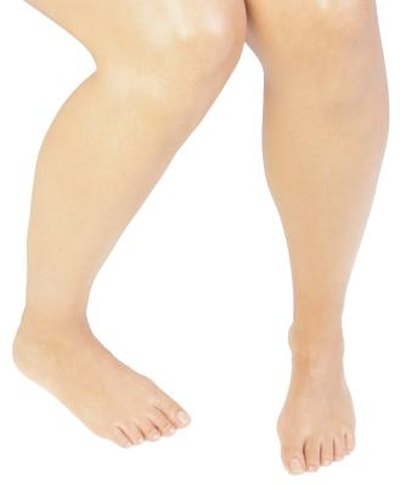 Shapely lower legs come from toning the calf muscles.