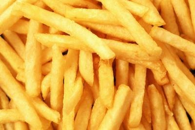 A close-up of french fries.