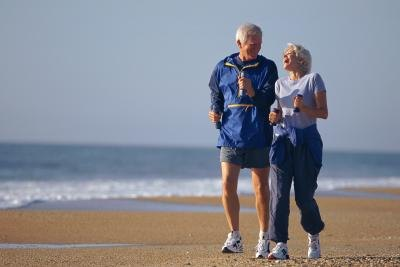 Jogging can add years to your life.