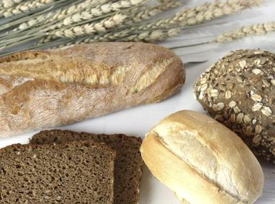 Assorted whole grain breads