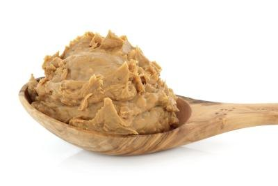 A spoonful of peanut butter