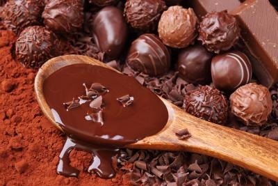 Chocolate is a diuretic because of the caffeine content.