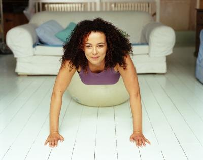 Workout in your living room using your own body weight.