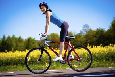 biking is one of many cardiovascular exercise options