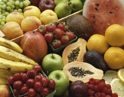 Fruit has naturally occuring sugars.