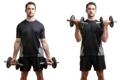 Friday make sure you add dumbbell curls.