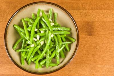 Green beans are good for your bones.