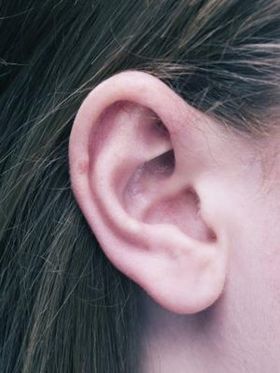 Dry Skin on the Outer Ear